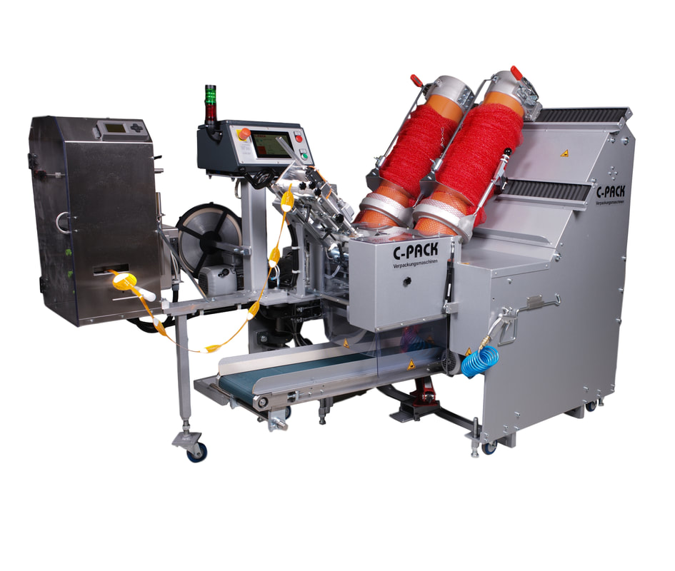 VAC 929 C-Pack automatic net clipping machine